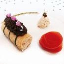 """Le Crabe """"Kegani"""" En Frivolité Au Caviar"""