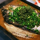Grilled Fish with Green Pepper