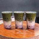 Azuki Matcha Milk ($5.60)