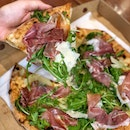 Prosciutto and Rucola Pizza ($30++)