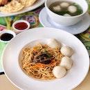 Ming Fa's Premium Fishballs with La Mian ($12.90++)