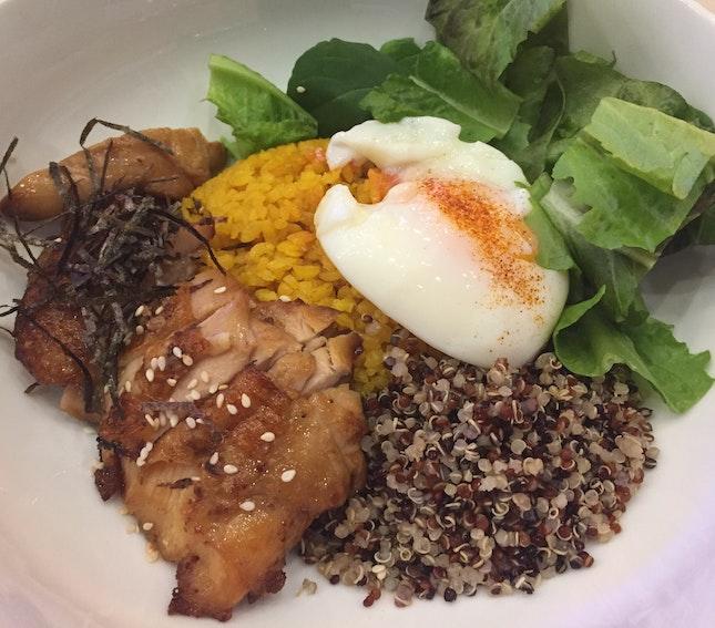 Teriyaki Chicken Grain Bowl