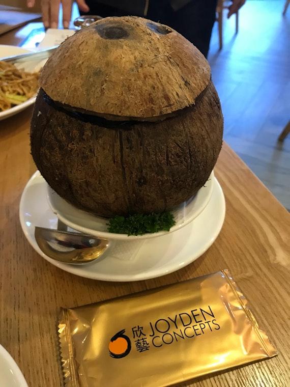 Double Boil Coconut Soup