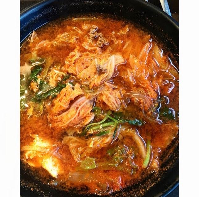 Korean Beef Veg Soup $7.70