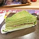 Gave @yoshinoyasg's Matcha Crepe Cake a try.