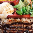 Reedz cafe $4 teriyaki chicken bento box.