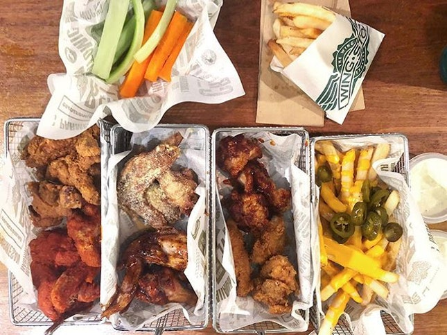 Winging it at WingStop.