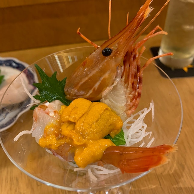 Fresh Botan With Uni
