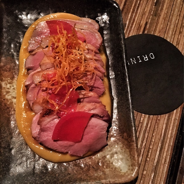 Duck Breast With Roasted Pumpkin