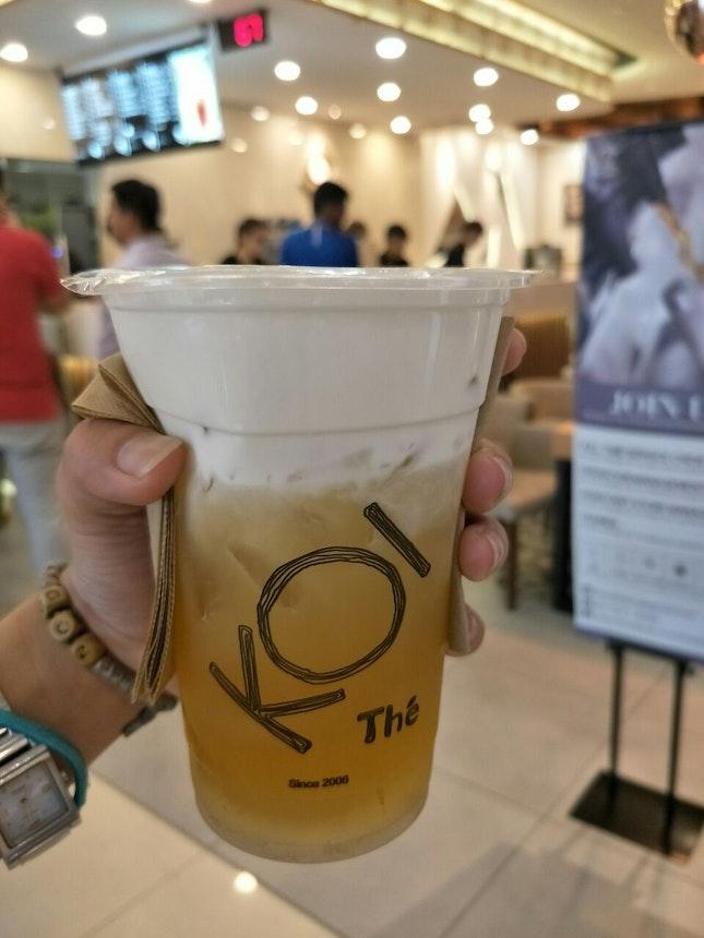 Green Tea Macchiato (RM9.50)