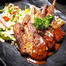 The adventurous palates & game lovers would enjoy the Lamb Rack.