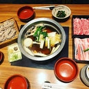 #feedingtime #aftertouchdown #firstmeal in #japan #sukiyaki #freshness #okinawapork #beefloin #oishii 😋 #instafood #foodporn #foodlover #burpple #instalongweekend #instatravel #osaka #japan #osakakyotoday1 #jpn #felztravelfootprint2017 #felzfooddiary