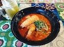 #yummilicious #nyonyalaksa 🔥 for #latelunch #beautifultiles #onthetable #instafood #foodporn #foodlover #burpple #chongwengecafe #felzfooddiary