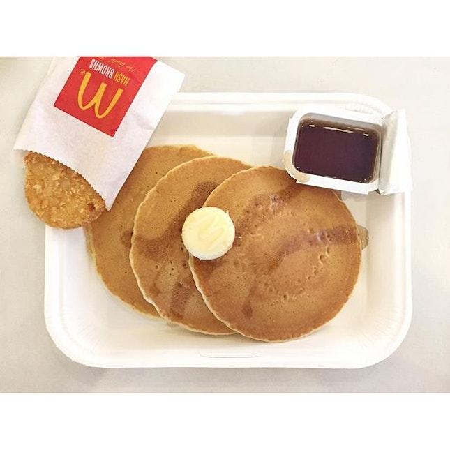 nostalgic but yeah, still my fav pancake.