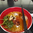 Ajitama Teriyaki Chicken Spicy Soba