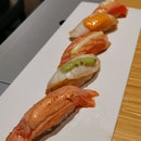 Cod And Salmon Sushi