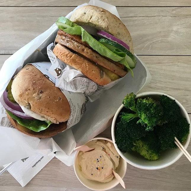 My favourite vegan burger joint?