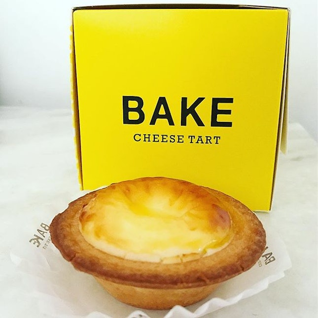BAKE cheese tart [$3.50] Finally got to try this after the hype.