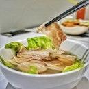 Sliced Pork Belly Soup