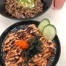Truffle Wagyu Bowl, Mentaiko Salmon Bowl