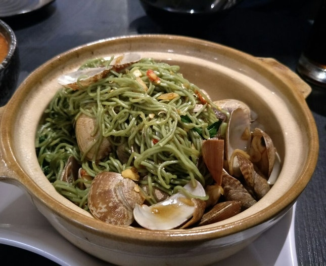 Claypot La-la Jade Noodle!