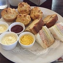 Devonshire Cream Tea Set @ Fosters Steakhouse.