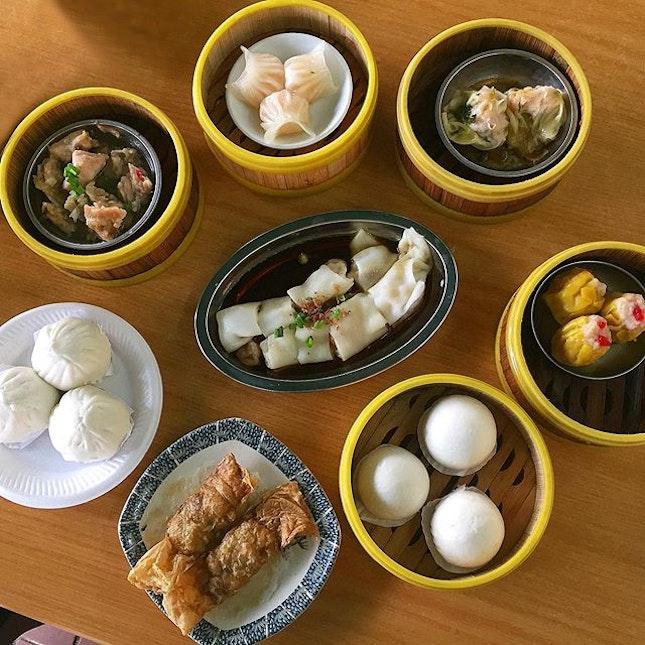Dim Sum Galore @ Singapore Handmade Dim Sum 新加坡手工包点 [f.k.a. Lian Bang Fu Zhou] Blk 643 Bukit Batok Central #01-42.