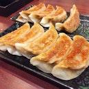 Pan-Fried Dumplings With Pork @ Gyoza-ya, 2 Orchard Road, ION Orchard #B4-56.