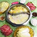 Superior Marbled Pork Sliced Single Value Set Meal @ $9.90++ [Per Pax] With Tonic Chicken & Nourishing Fish Meat Soup Base For 2 Pax @ Shi Li Fang 食立方, 154 West Coast Road, West Coast Plaza #02-24.