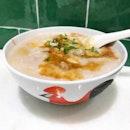 Mixed Pork Porridge [Add-On Egg] @ Ah Chiang's Traditional Porridge, 50 Jurong Gateway Road, Jem #B1-40 [Newly Opened].