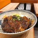 Pork Jowl Don @ Gochi-So Shokudo   3 Gateway Drive   Westgate   #01-02.