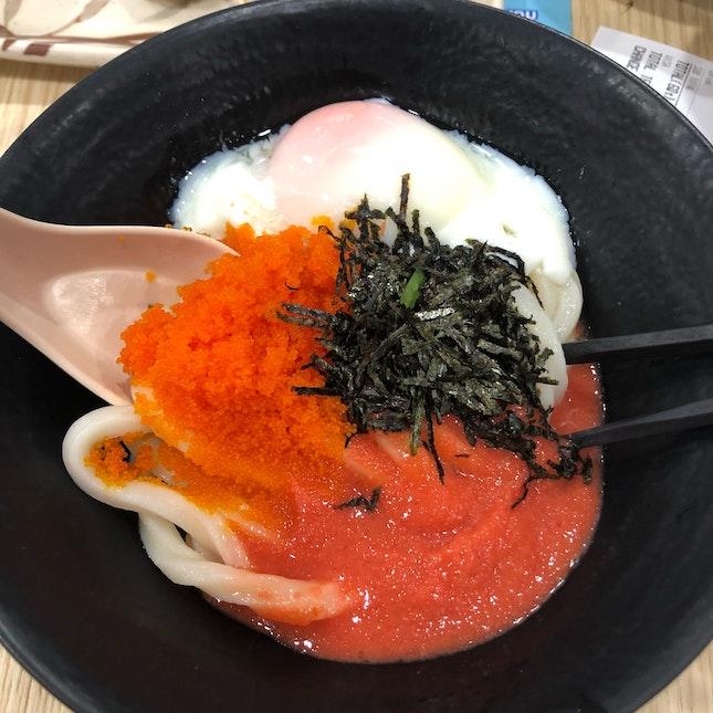Triple Egg Udon!