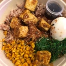 Brown Rice With Crispy Tofu