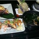 Good aburi sushi!