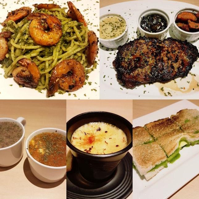 Food is really good! But tad bit pricey imo