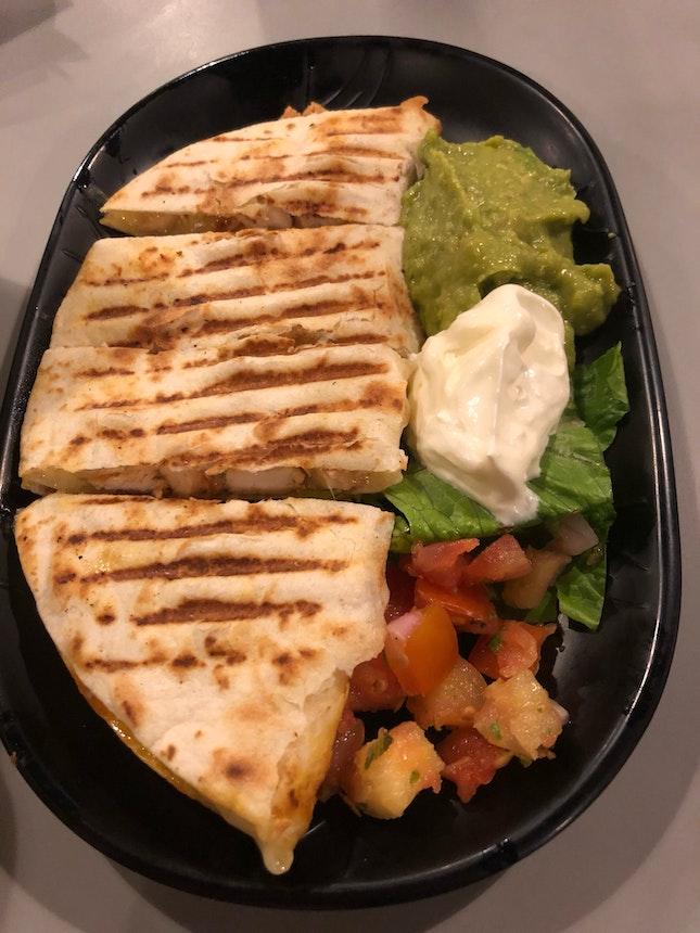 Spicy Chicken Quesadilla ($13.95)