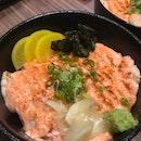 Salmon Mentaiko Bento ($16.90 nett)
