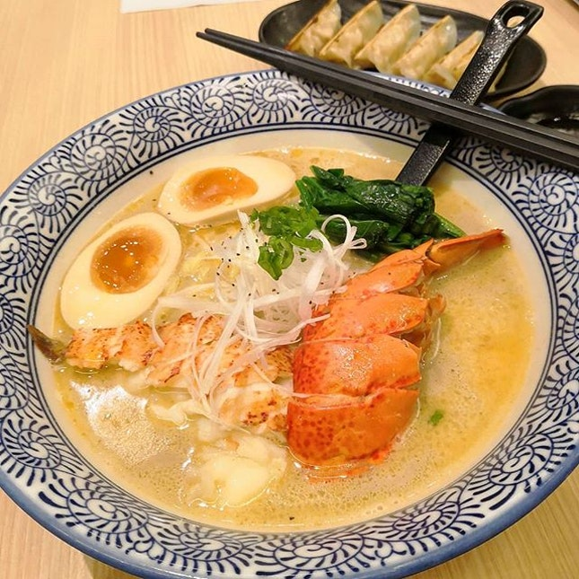 Had you all food enthusiastic eaten the Superior Lobster Ramen Set($20.90) from So Ramen SG?(@soramensg ) If not, go and had a taste of it as this limited ramen set will be gone after end of February.