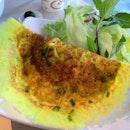 Bánh xèo(Vietnamese Pancake)($6.50)