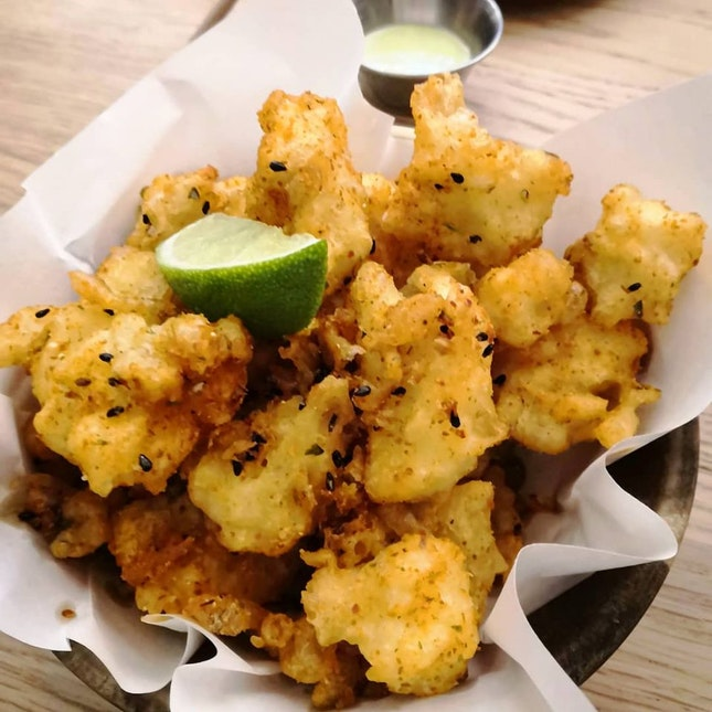 Cauliflower Fritto($10)🙂
