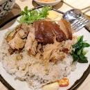 Mario's Celebrity Pork Leg Rice($10)🐷
