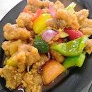 Sweet & Sour Pork(S)($12)😐