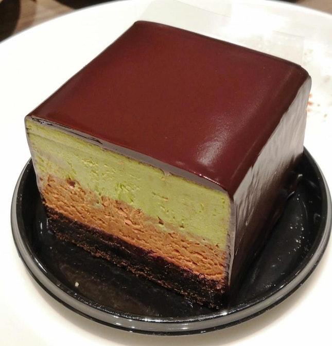 Matcha Mousse Cake($8)🍫