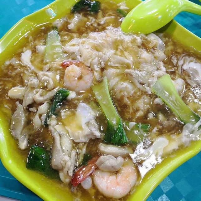 Thai Fried Hor Fun($4.50)👍