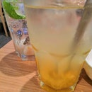 Yuzu Tea And Lychee Mint Fizz