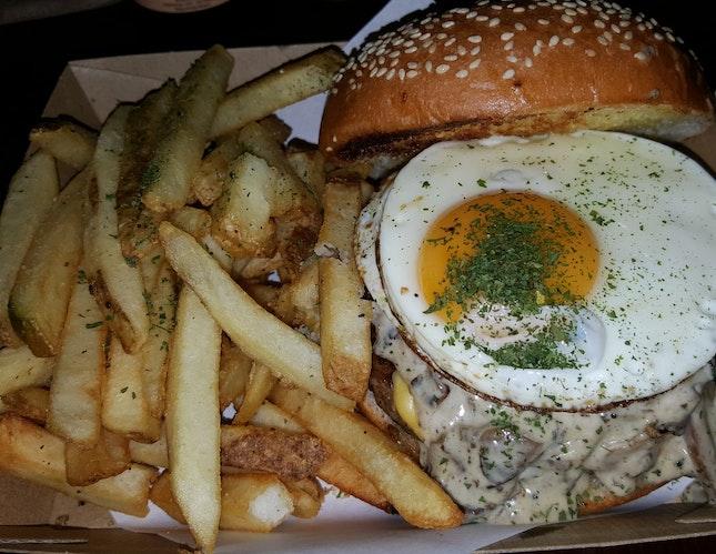 Mushroom Burger Heaven