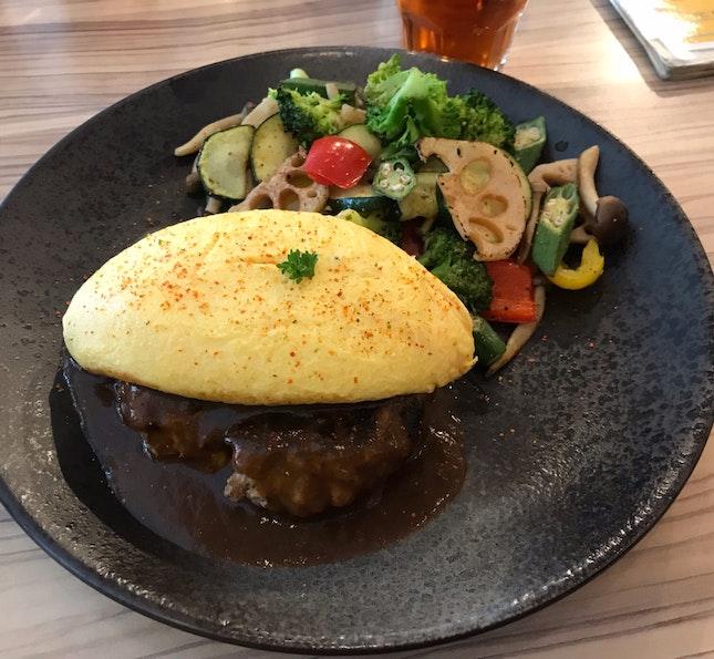 Omu Hamburg Steak