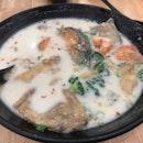 Salmon Fish Head Soup