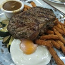 Grilled Angus Sirloin Steak