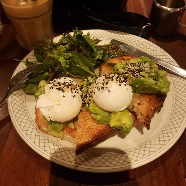 Poached eggs + Avocado